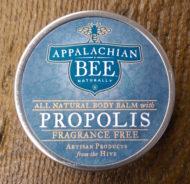 Appalachian Bee Fragrance Free Body Balm with Propolis