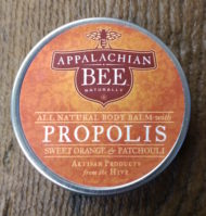 Appalachian Bee Sweet Orange and Patchouli Body Balm with Propolis
