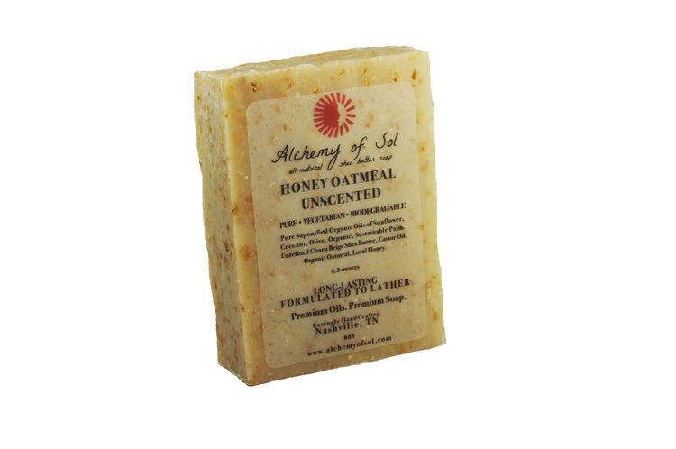 Honey Oatmeal Unscented Soap – Scottsville Supply Co.