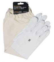 cowhide leather beekeeping gloves