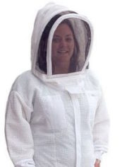 vented bee suit with veil