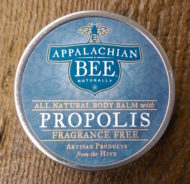 Appalachian Bee Fragrance Free Body Balm with Propolis