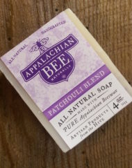 Patchouli soap beeswax