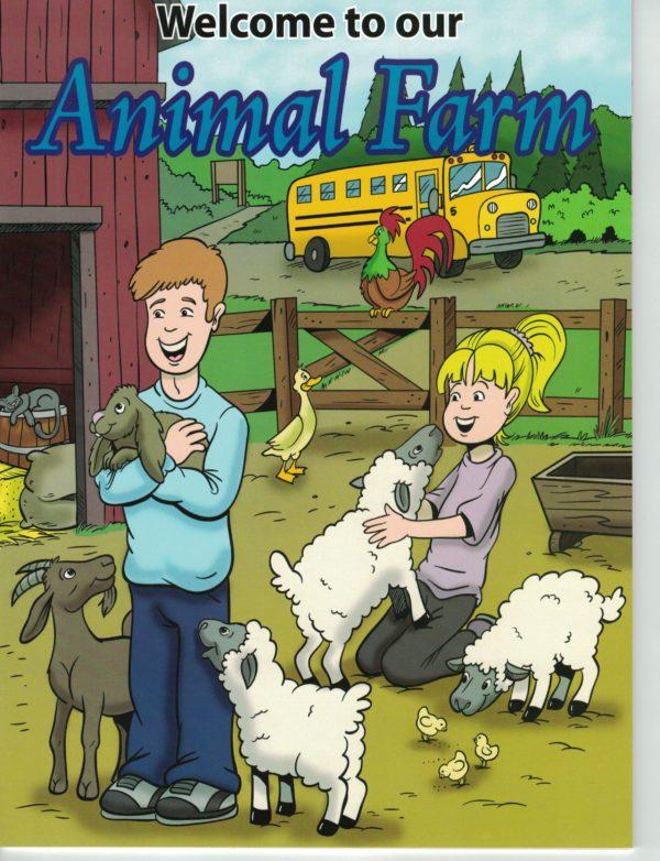animal farm coloring book