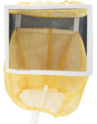 square folding beekeeping veil
