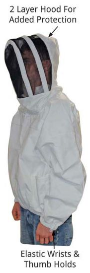 Economy Bee Jacket with zippered veil