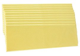 Foundation Rite Cell 174 Waxed Yellow Plastic