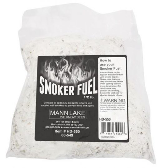 cotton smoker fuel