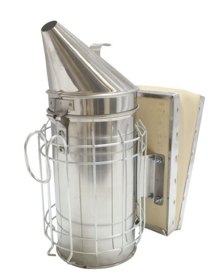 bee smoker wood bellow