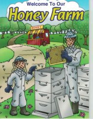 honey farm coloring farm bee children book