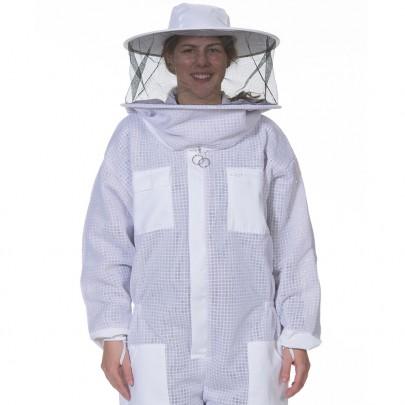 Round Veil Vented Beekeeper Suit