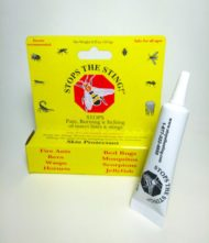 stops the sting bee sting ointment