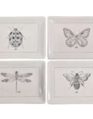 da5737 insect plates creative coop