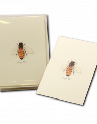 honey bee notecard honeybee greeting card