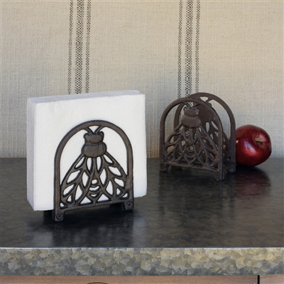 bee napkin holder