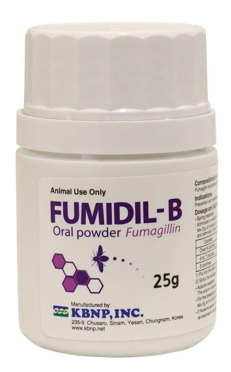 Fumidil-B fumiglin dc097 nosema treatment
