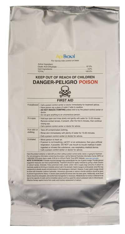 dc913 dc-913 dc903 dc-903 api bioxal oxalic acid