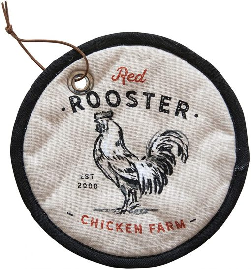 rooster pot holder